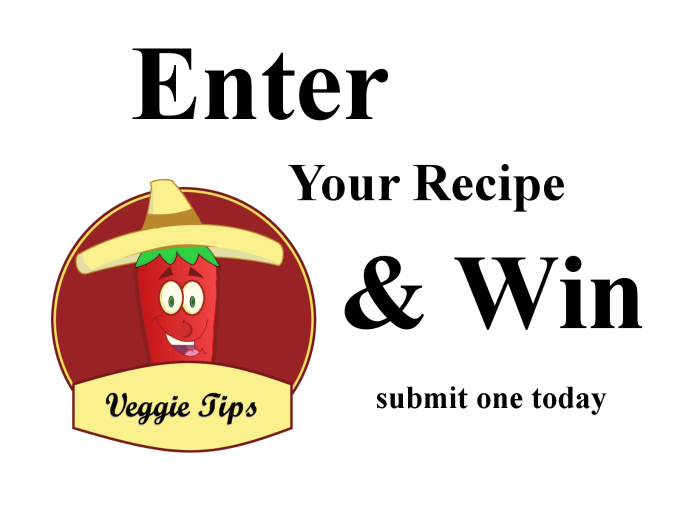 enter your recipe and win contest